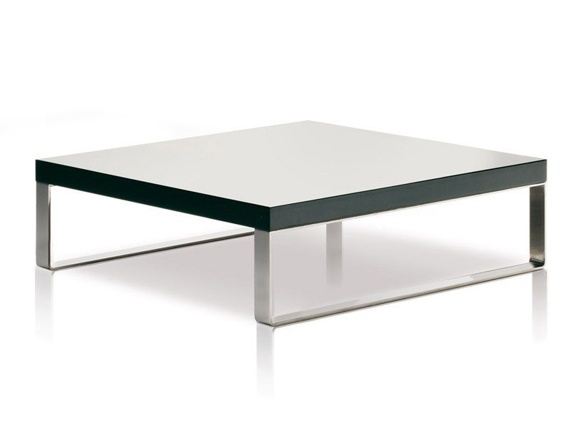 Lacquered coffee table JAZZ | Square coffee table - ESTEL GROUP