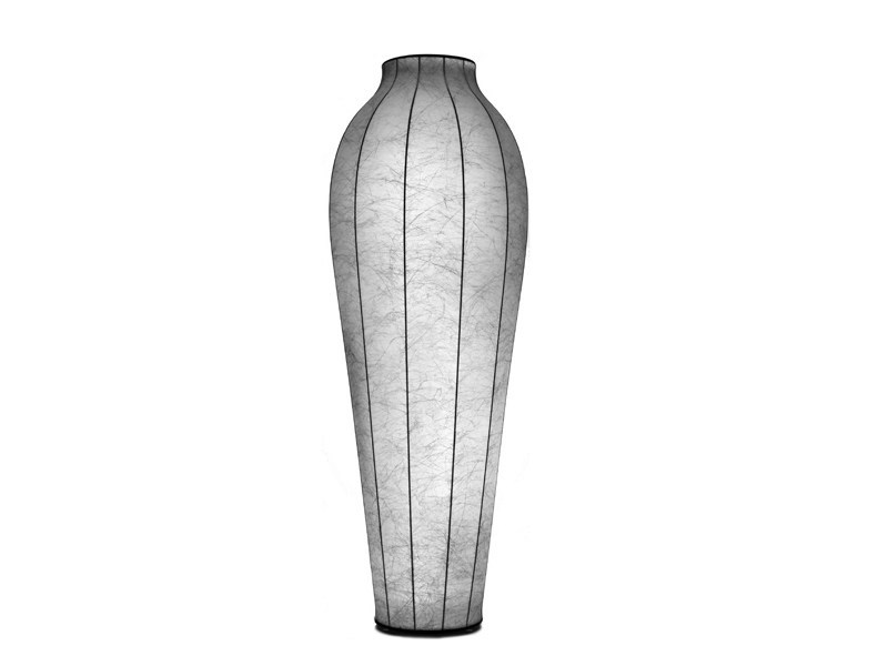 Cocoon resin floor lamp CHRYSALIS - FLOS