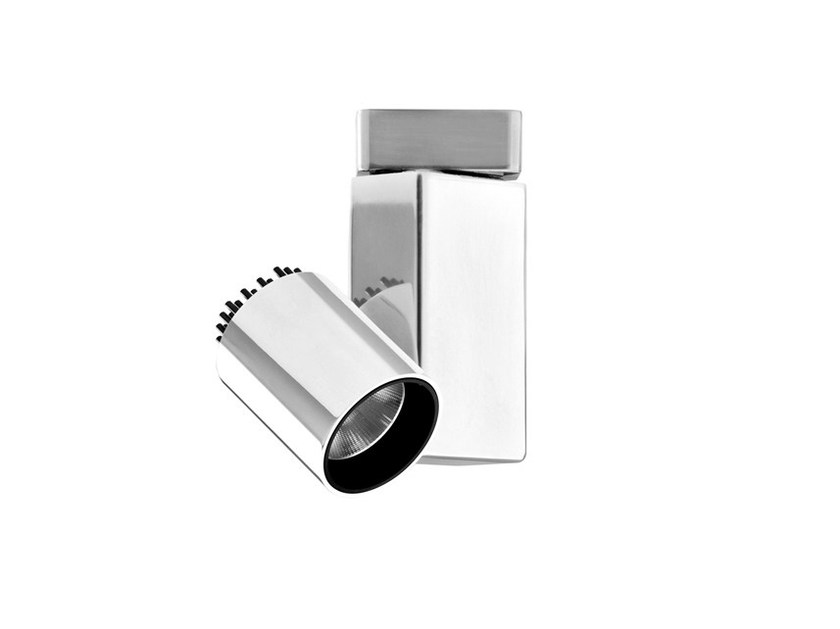 Adjustable aluminium spotlight FORT KNOX | Spotlight - FLOS