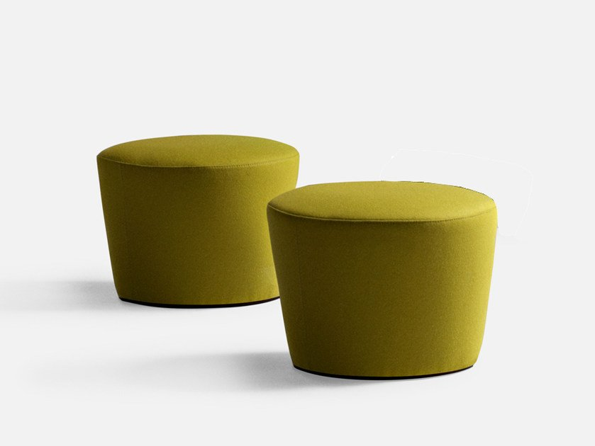 Fabric pouf with fire retardant padding FOLIES | Pouf - La Cividina