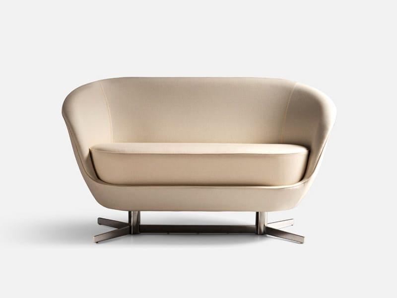 2 seater fabric leisure sofa JANGO | Sofa by La Cividina