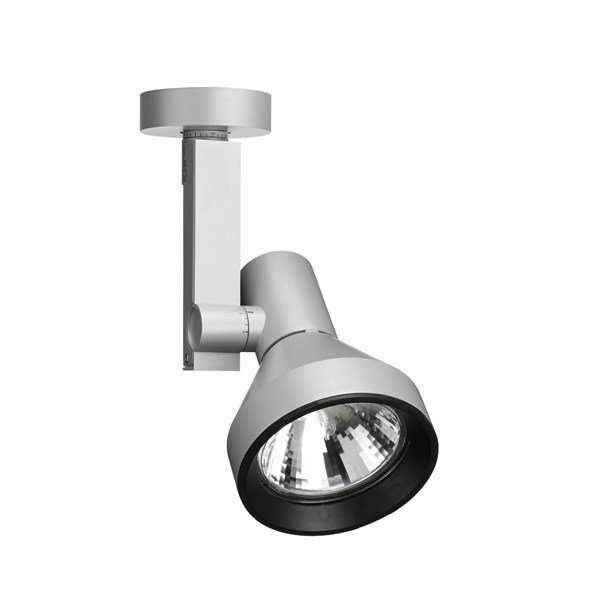 Adjustable aluminium spotlight COMPASS SPOT | Spotlight - FLOS