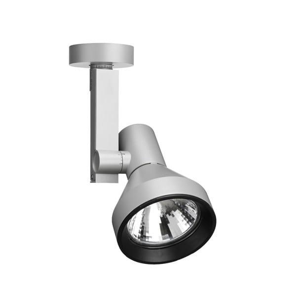 Faretto orientabile in alluminio compass spot faretto flos for Faretti flos