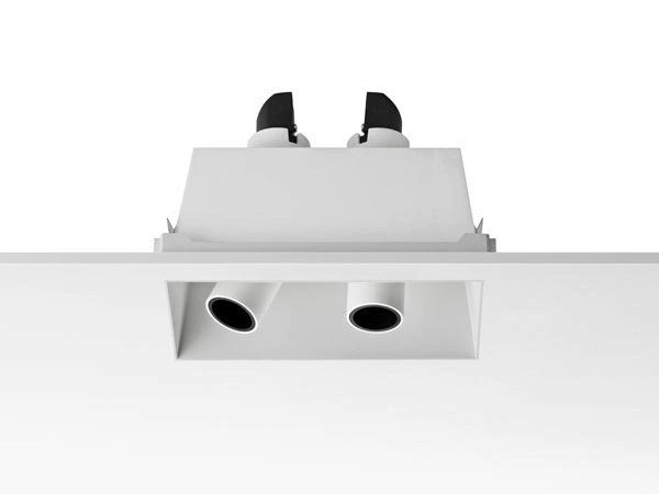 Invisible adjustable ceiling aluminium spotlight FIND ME | Invisible spotlight - FLOS