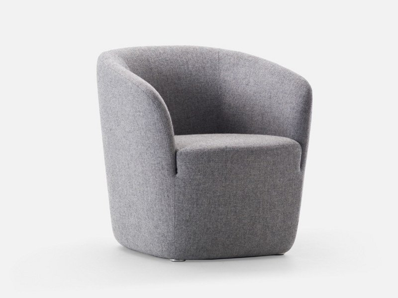 Guest chair with armrests DEP SMALL | Armchair by La Cividina