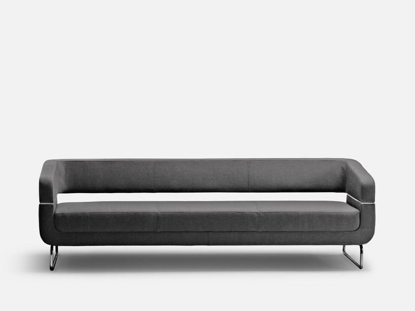 Upholstered 3 seater sofa MATRIX | 3 seater sofa - La Cividina