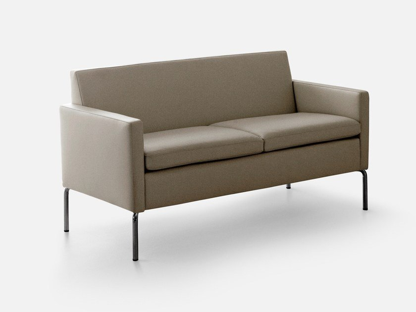 2 seater sofa with fire retardant padding SOCRATE | Sofa - La Cividina