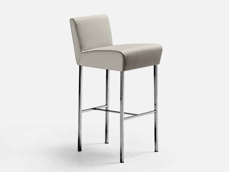 Counter stool with footrest HOLIDAY | Counter stool - La Cividina