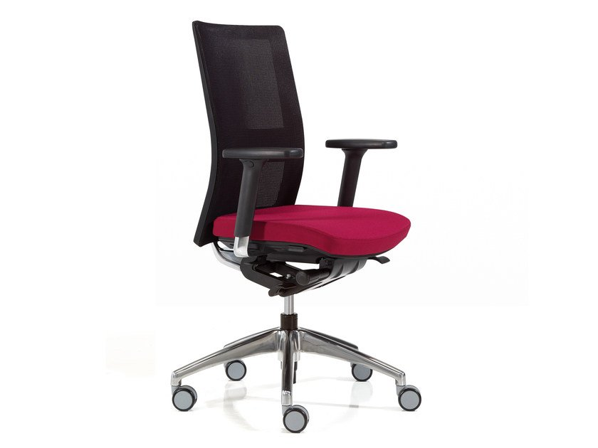 Mesh task chair with armrests ITEK | Mesh task chair - Inclass Mobles