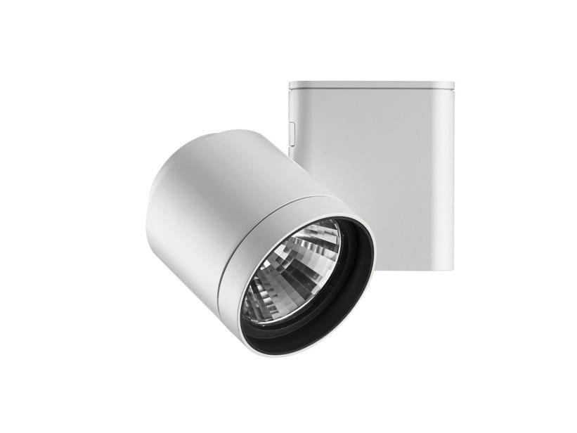 Adjustable ceiling technopolymer spotlight PURE SPOT   Spotlight - FLOS