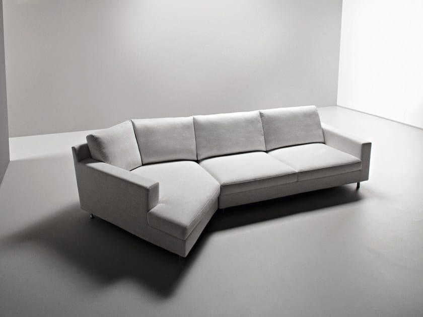 Divano angolare componibile in tessuto manhattan divano angolare la cividina - Divano componibile angolare ...
