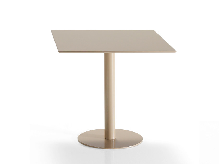 Square table FLAT | Square table by Inclass Mobles