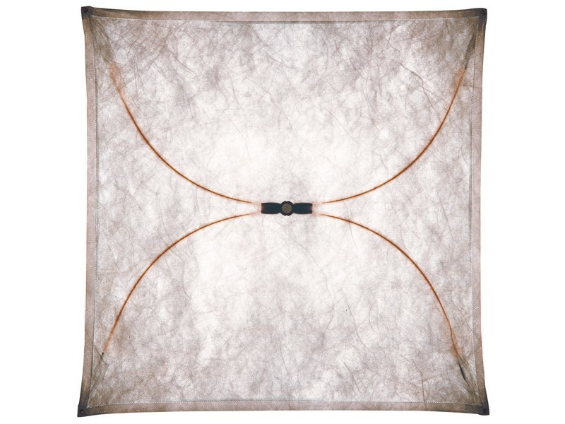 Synthetic fabric wall lamp ARIETTE by FLOS