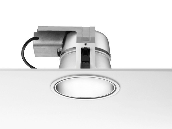 Fluorescent die cast aluminium built-in lamp DOWNTOWN - FLOS