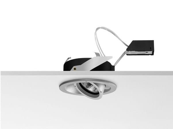 Halogen ceiling die cast aluminium spotlight 5010 | Spotlight by FLOS