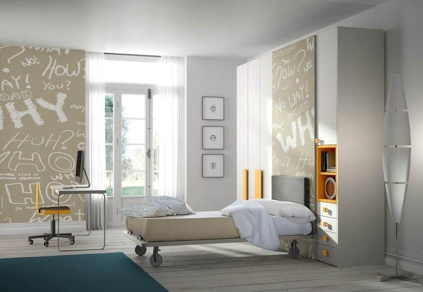 schlafzimmer f r jugendliche tiramolla 116 by tumidei design marelli e molteni. Black Bedroom Furniture Sets. Home Design Ideas