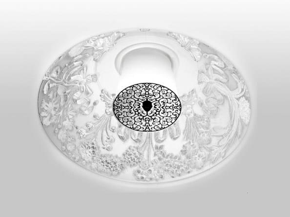 Direct light recessed gypsum ceiling lamp SKYGARDEN RECESSED - FLOS