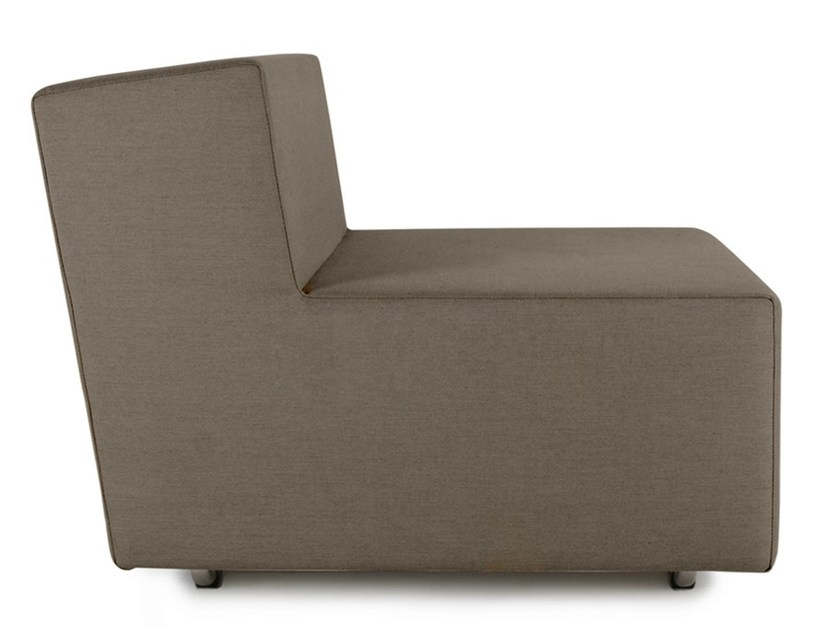 Sectional modular fabric armchair LOOPY   Garden armchair by April Furniture