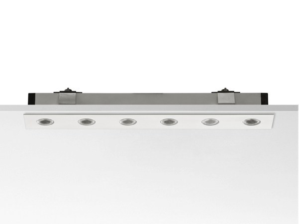 Built-in aluminium Linear lighting profile for downlights LED CURTAIN - FLOS