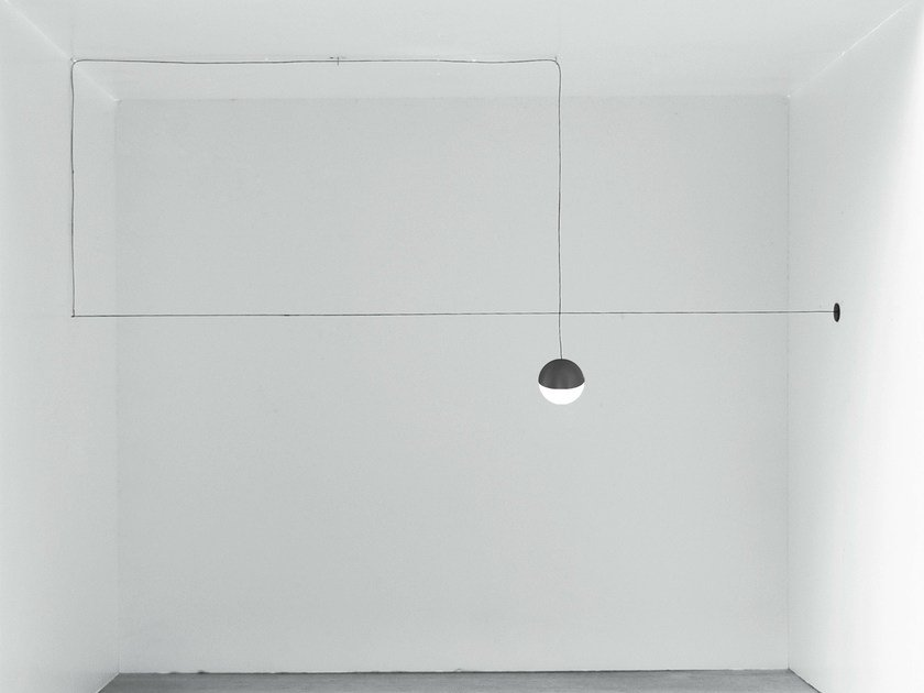 LED pendant lamp STRING LIGHT - SPHERE HEAD - FLOS