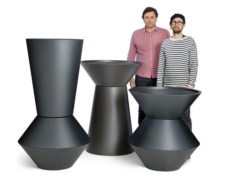 Aluminium Flower pot ABC - Nola Industrier
