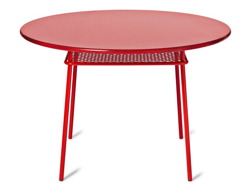 Round steel table WIMBLEDON | Round table - Nola Industrier
