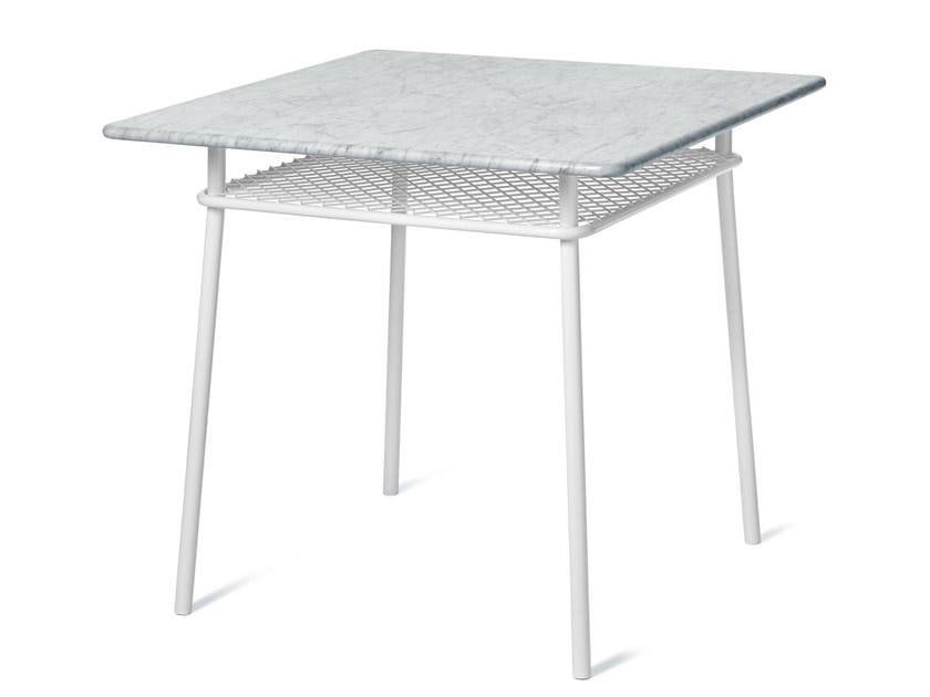Square steel table WIMBLEDON | Square table - Nola Industrier