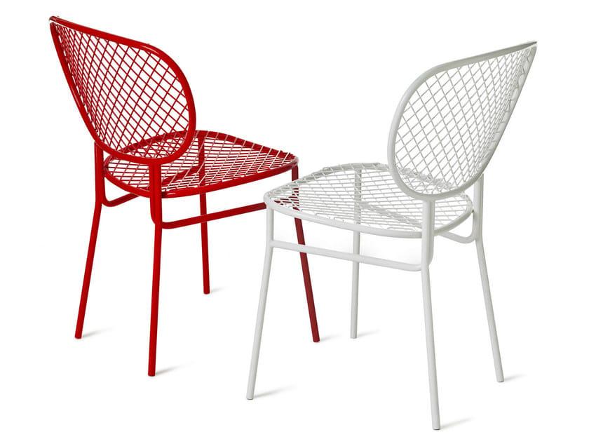 Steel chair WIMBLEDON | Chair - Nola Industrier