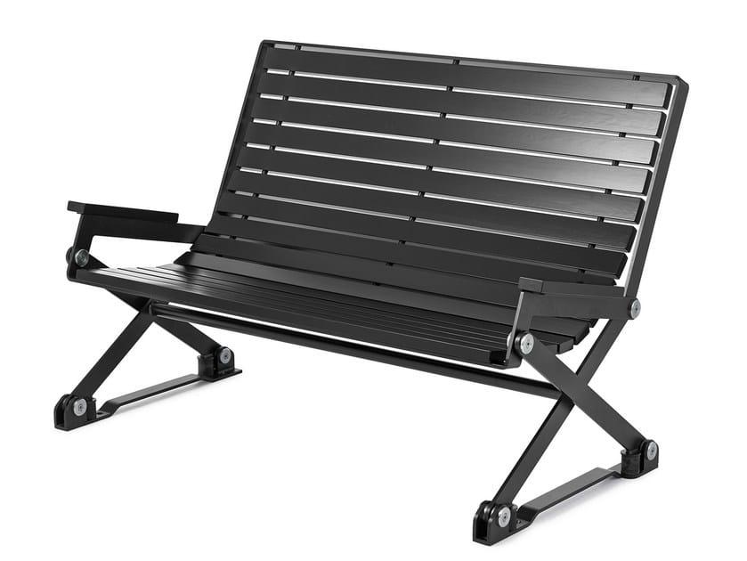 Recliner wooden Bench KAJEN | Recliner Bench - Nola Industrier