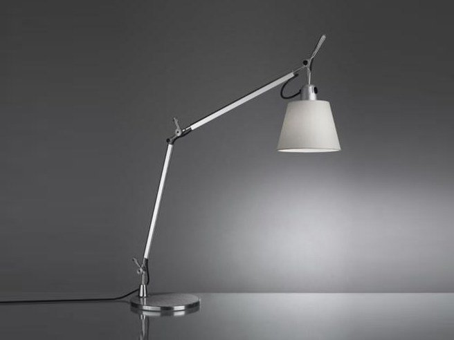 Satin table lamp TOLOMEO TABLE BASCULANTE - Artemide