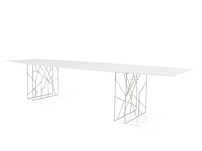 Design square rectangular round steel table