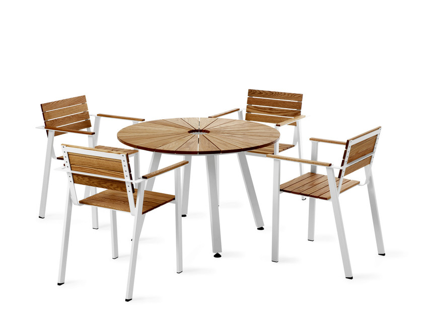 Sedia da giardino impilabile con braccioli sunset sedia - Tavolini per tv ikea ...