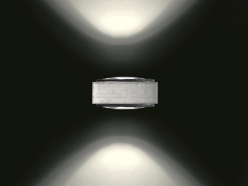 Lampada da parete a led a luce diretta e indiretta in - Luci da parete led ...