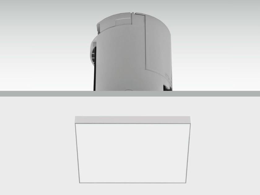 LED built-in emergency light LENS | Built-in emergency light - DAISALUX