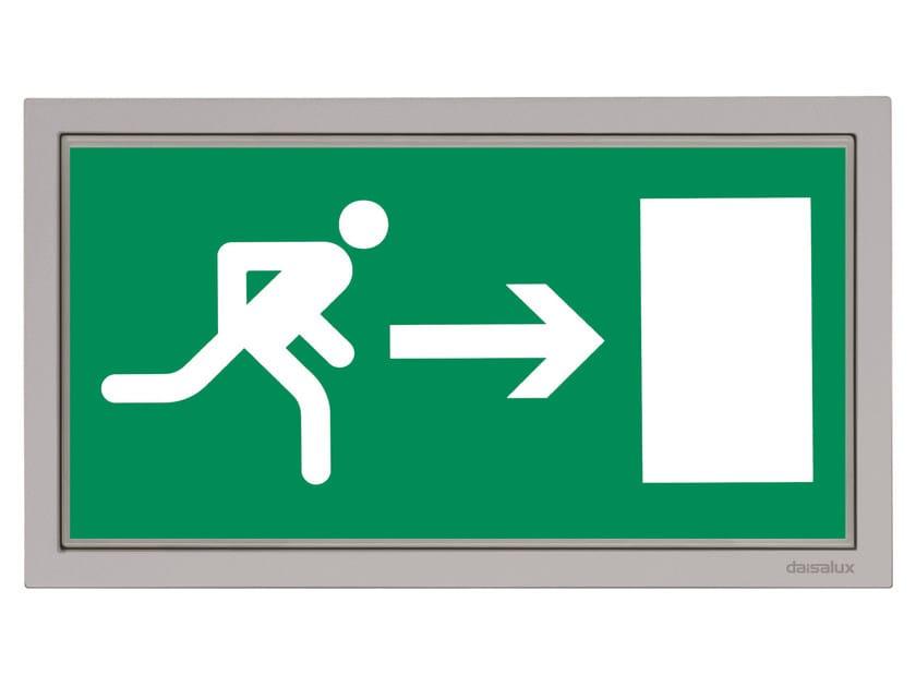 Emergency light / sign LISU | Illuminated sign - DAISALUX