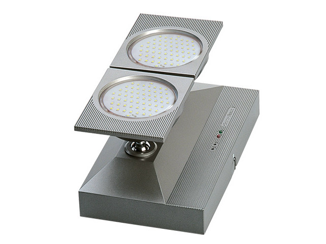 LED wall-mounted adjustable emergency light ZENIT | LED emergency light - DAISALUX