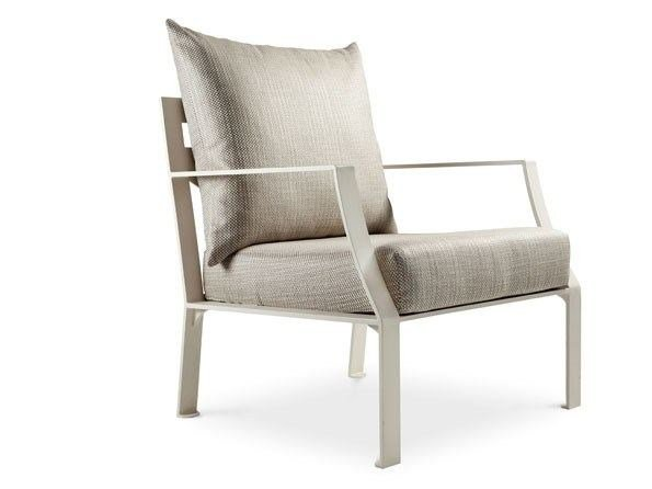 Upholstered armchair with armrests RE SOLE | Armchair - Cantori