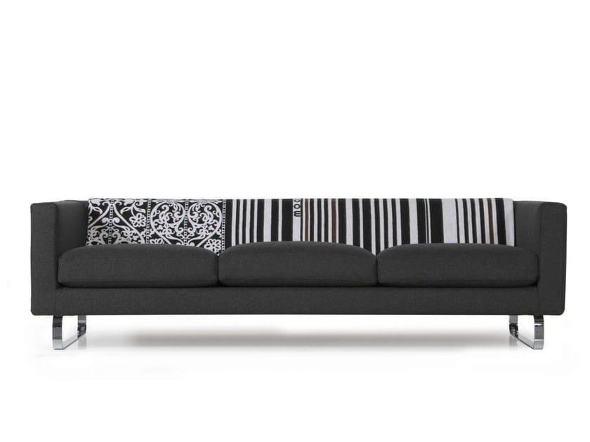 5 seater acrylic sofa BOUTIQUE BLANKET JANUARY - Moooi©