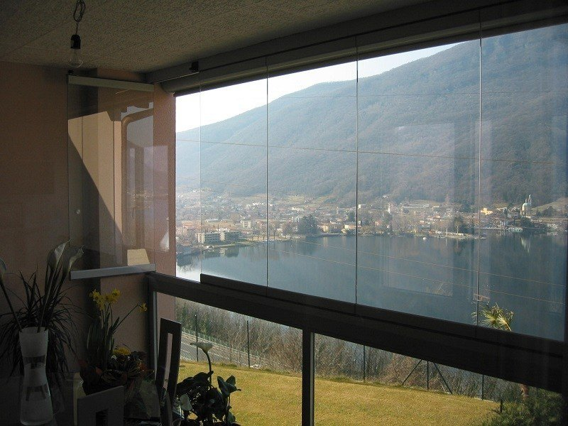 Frameless patio door PLv LIGHT - FRUBAU