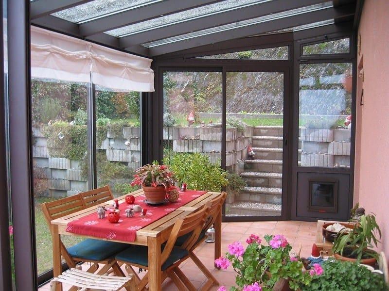 Veranda in alluminio e vetro Veranda - FRUBAU