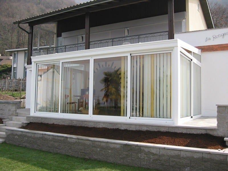 Giardino d 39 inverno in alluminio e vetro giardino d 39 inverno - Giardino d inverno ...
