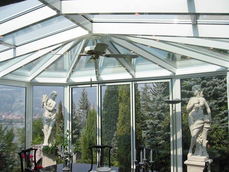 Giardino d 39 inverno in alluminio e vetro giardino d 39 inverno frubau - Giardino d inverno permessi ...