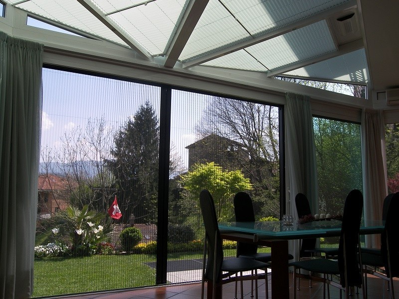 Giardino d 39 inverno in alluminio e vetro giardino d 39 inverno - Giardino d inverno prezzo ...