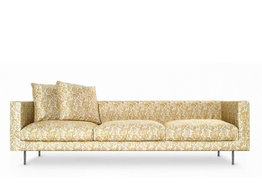 Coated foam sofa BOUTIQUE JESTER | 4 seater sofa - Moooi©