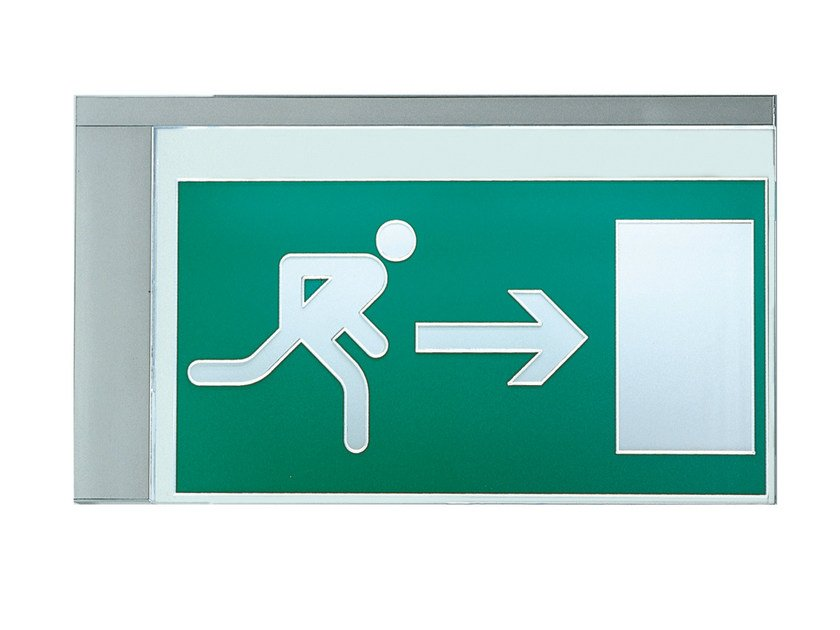 Emergency light / sign VIR | Indoor sign by DAISALUX