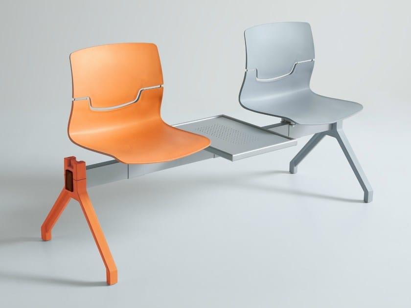 Technopolymer beam seating SLOT PG - GABER
