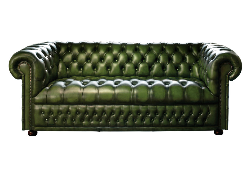 sof capiton estofado de couro cole o hamilton by fleming howland. Black Bedroom Furniture Sets. Home Design Ideas