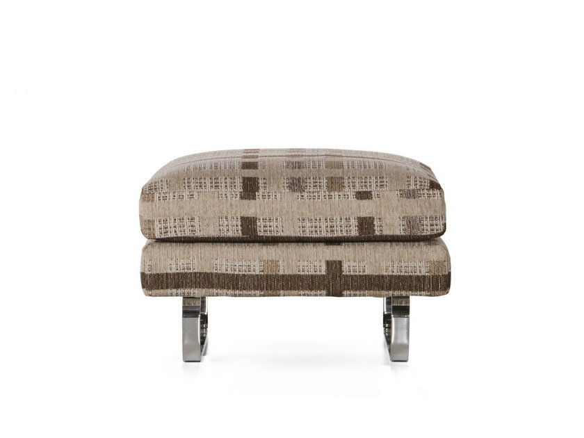 Expanded polyurethane footstool BOUTIQUE NEW YORK | Footstool by moooi