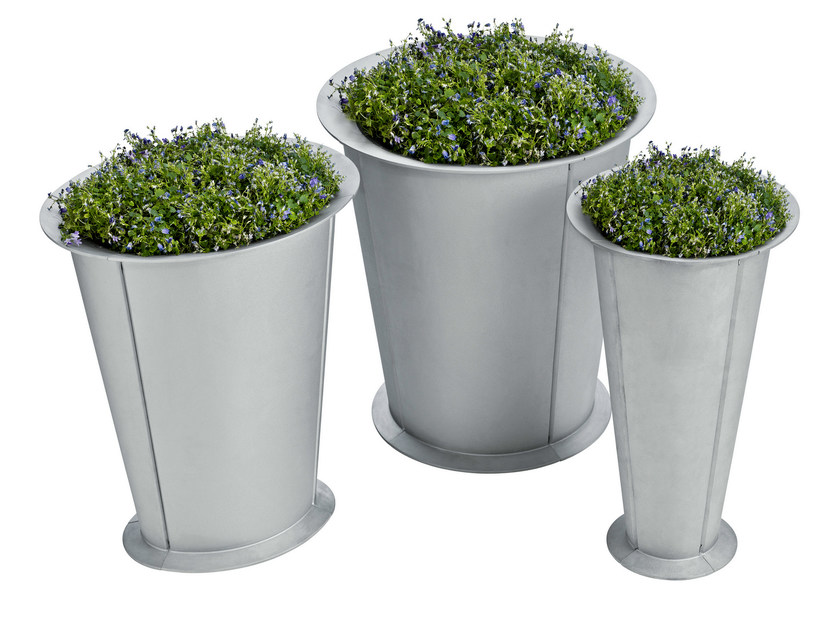 Aluminium Flower pot SEGMENT by Nola Industrier