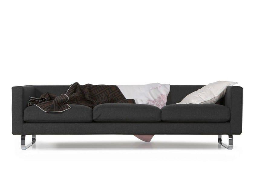 Expanded polyurethane sofa BOUTIQUE BLANKET NOVEMBER by moooi